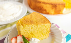 Lemon Chiffon Cake – Recipes Angel Food Cake