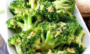 Lemon Ginger Broccoli – Healthy Recipes Broccoli