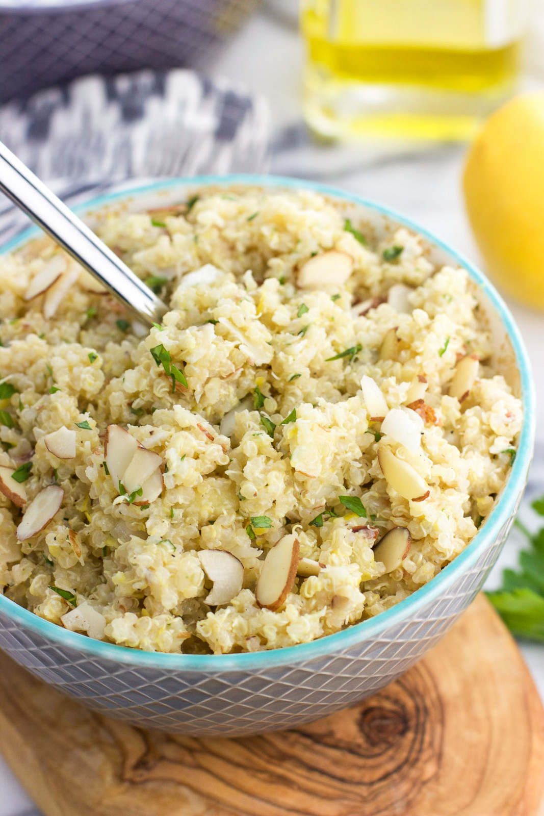 Lemon Herb Quinoa Salad - healthy quinoa recipes