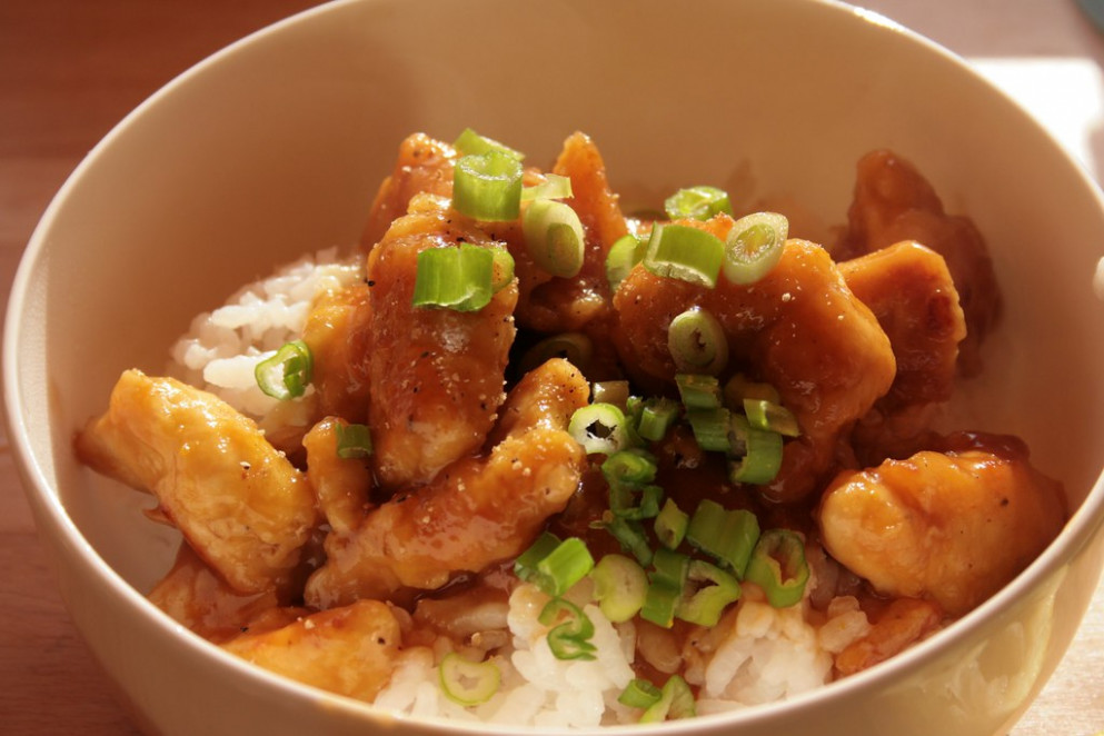 Lemon-Orange Chicken - chicken recipes honey