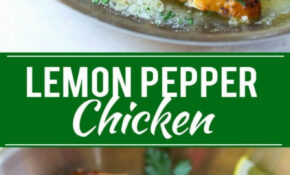 Lemon Pepper Chicken – Dinner At The Zoo – Pinterest Recipes Dinner