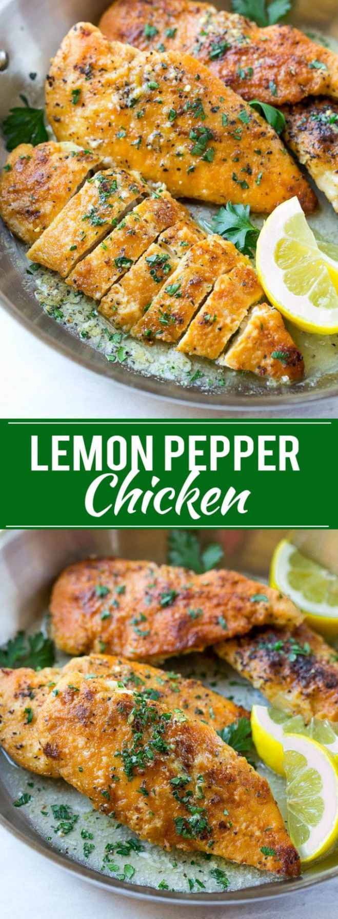 Lemon Pepper Chicken - Dinner At The Zoo - Pinterest Recipes Dinner