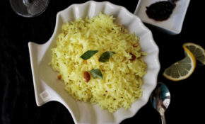 Lemon Rice – An Easy Lunch Box Recipe – Dinner Recipes South Indian Veg