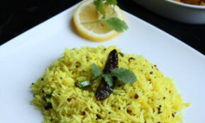 Lemon Rice – An South Indian Vegetarian Delicacy, Famous ..