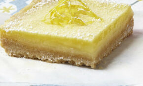 Lemon Squares Recipe – EatingWell – Healthy Juice Recipes For Weight Loss