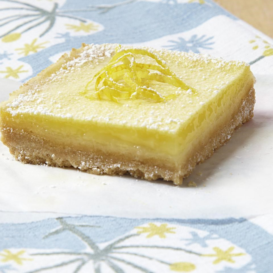 Lemon Squares Recipe - EatingWell - healthy juice recipes for weight loss