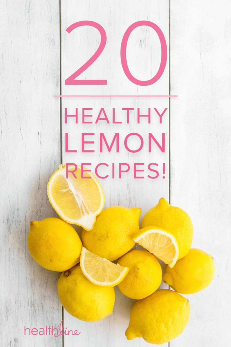 Lemons! Our Favorite Healthy Recipes - lemon recipes dinner