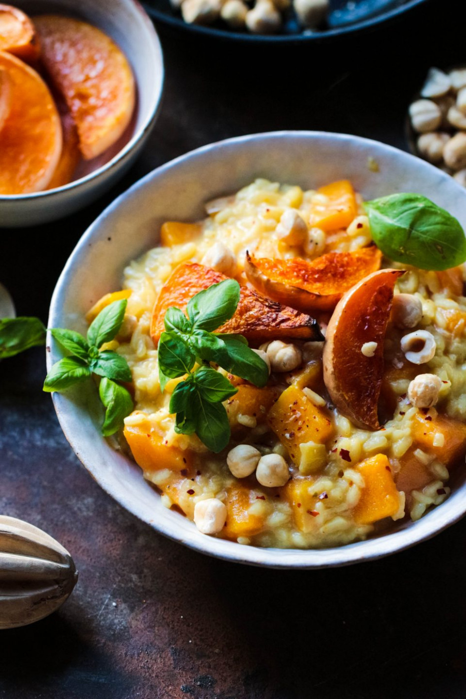 Lemony Butternut Squash Risotto (Vegan) - Rebel Recipes - butternut squash recipes dinner