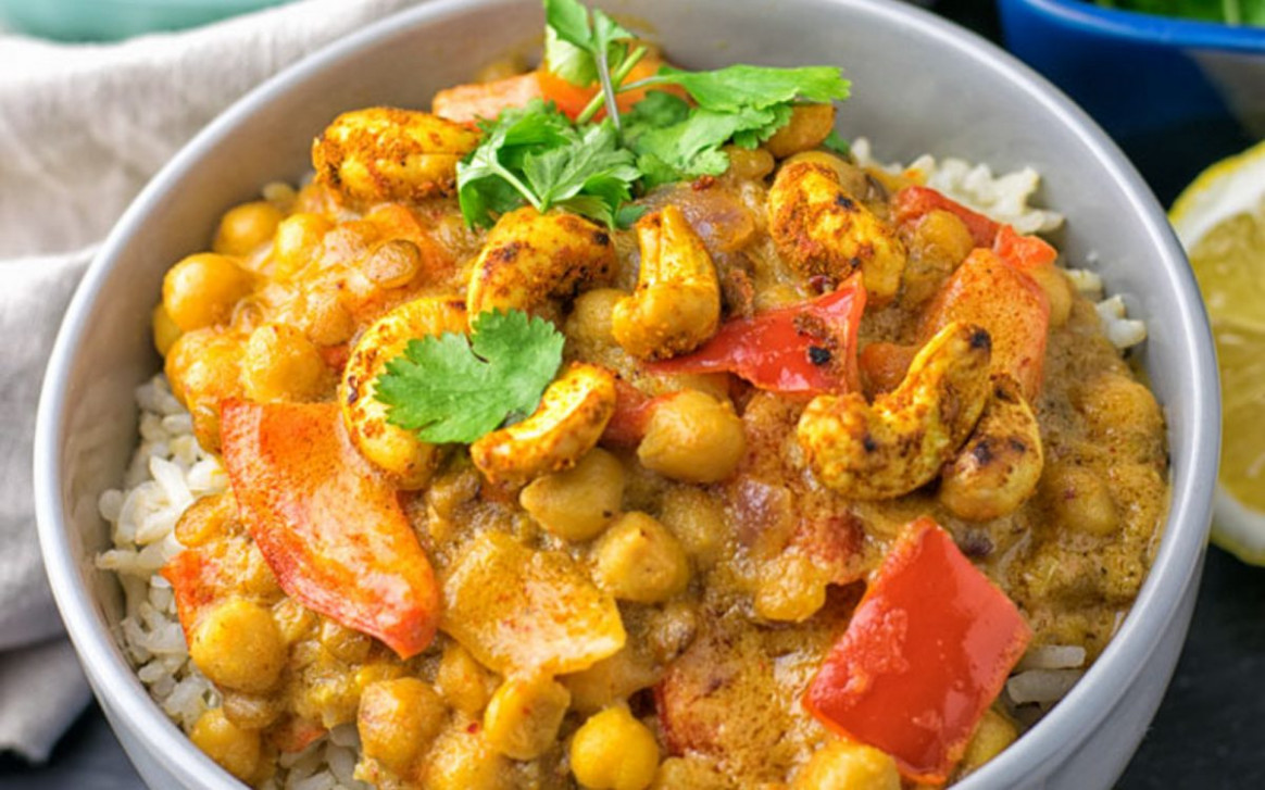 Lentil and Chickpea Yellow Curry [Vegan, Gluten-Free ..