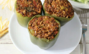 Lentil Stuffed Peppers | Recipe | Lentils | Stuffed ..