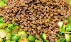 Lentils And Brussels Sprouts Skillet – Healthy Recipes Lentils