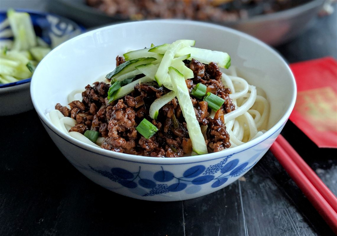 Let's Eat: Garlicky Black Bean Noodles For The Chinese New ..
