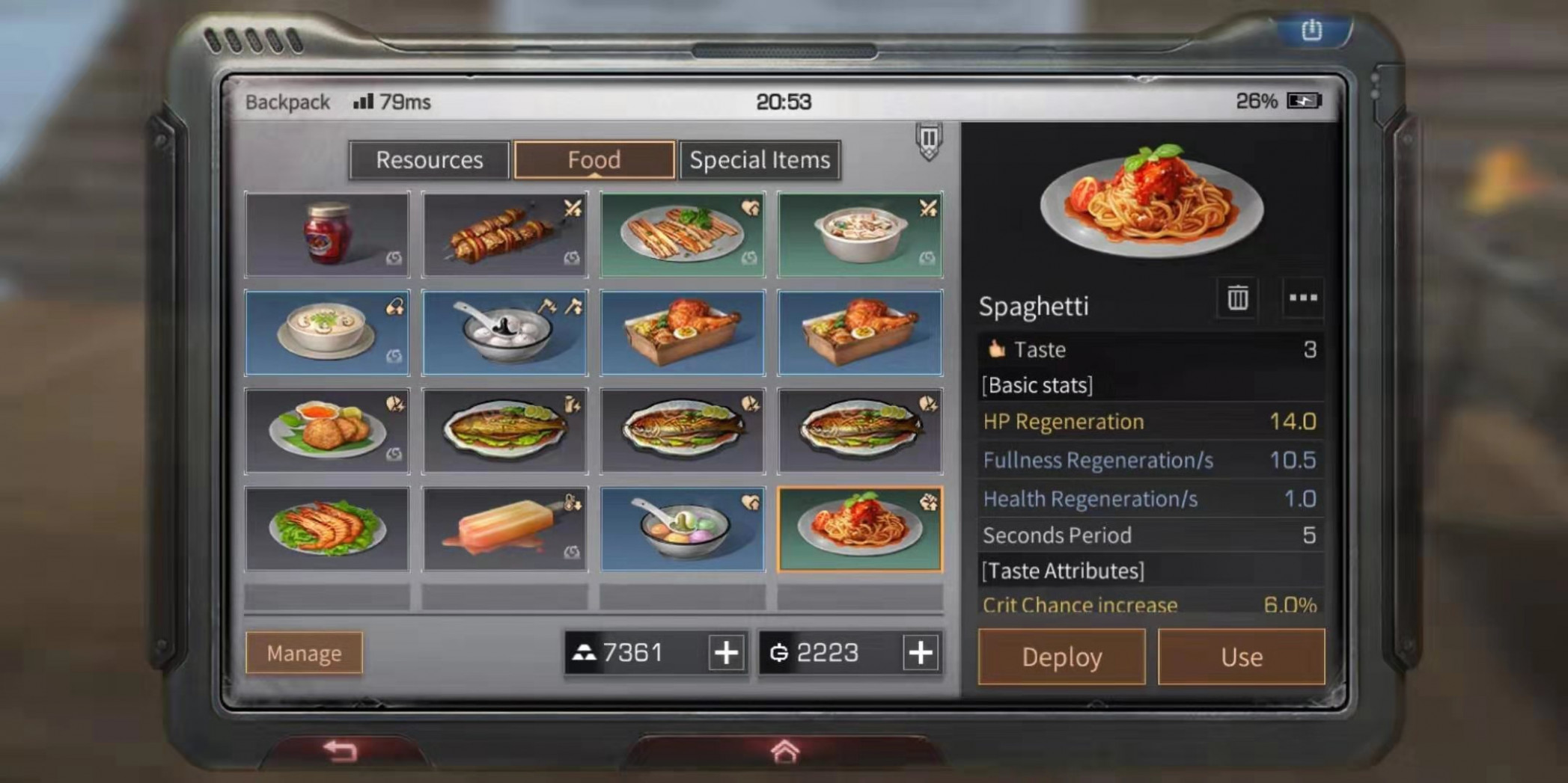 LifeAfter Guide - List of food recipes - GamerBraves - food recipes ragnarok mobile