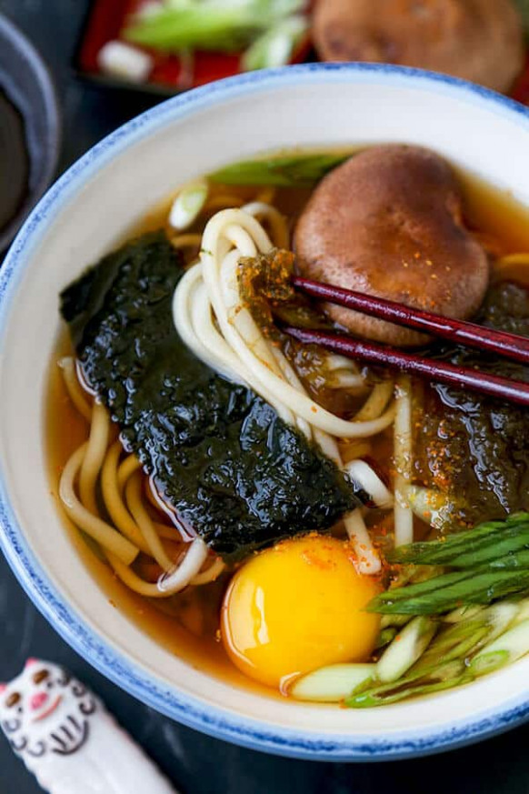 Light Udon Noodle Soup - Pickled Plum Food And Drinks - healthy recipes japan