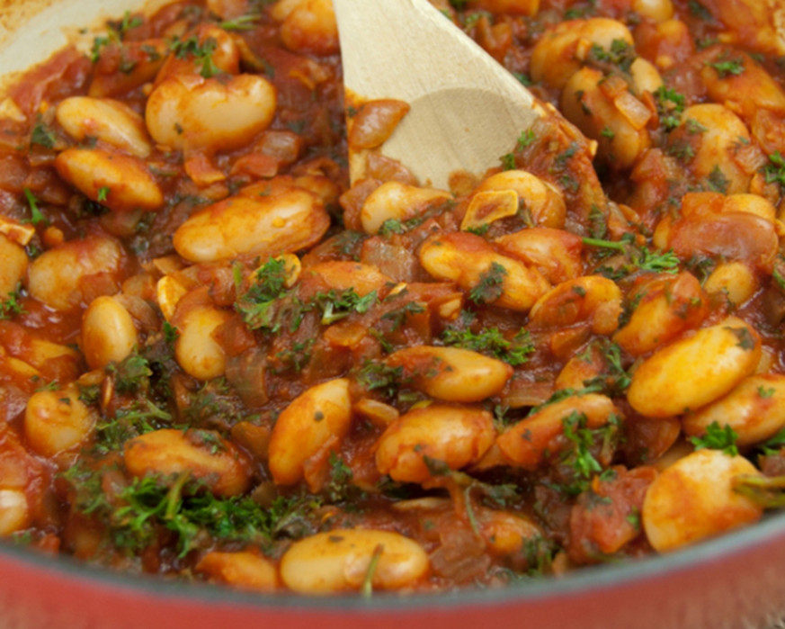 Lima Bean Stew - The Kids Cook Monday - Lima Bean Recipes Vegetarian