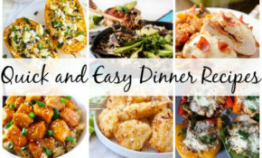 Link Love: Quick And Easy Dinner Recipes For A Rainy Day ..