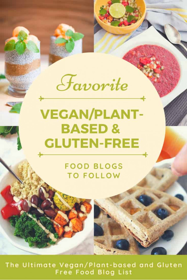 List of Vegan and Gluten-Free Blogs - My Pure Plants - recipes pure vegetarian