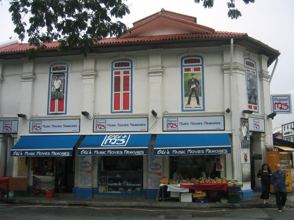 Little India Facade - vegetarian recipes of india