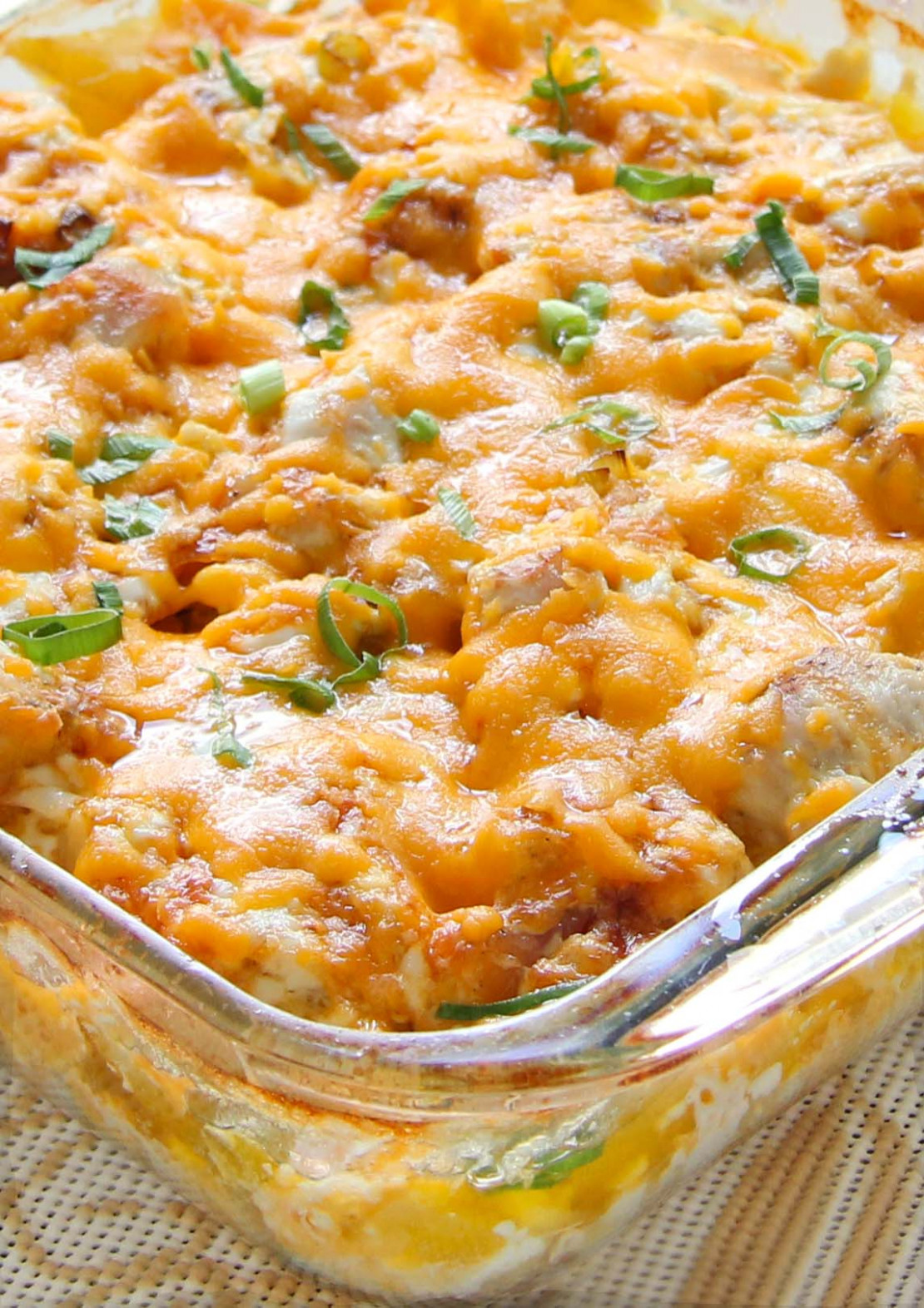 Loaded Baked Chicken Potato Casserole - recipes quick and easy chicken