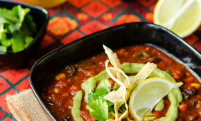 Loaded Enchilada Soup With Creamy Tomatillo Sauce – Recipes Vegetarian Enchiladas