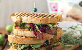 Loaded Holiday Panini – Sweet Potato Recipes Vegetarian