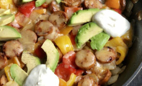 Loaded Sausage Skillet | Low Carb Recipes In 12 | Chicken ..