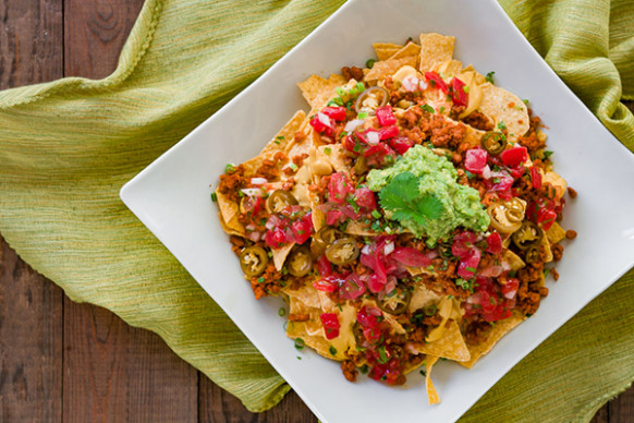 Loaded Vegan Nachos Recipe | Fresh Tastes Blog | PBS Food - nachos recipes vegetarian