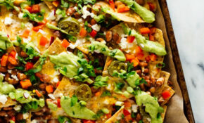 Loaded Veggie Nachos Recipe Cookie And Kate Vegetable Side ..