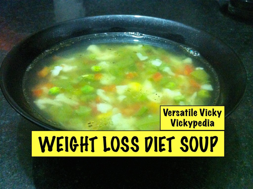 Lose Weight Fast with Weight Loss Diet Soup Veg Weight Loss Fat Burning Soup Recipe - healthy recipes hindi