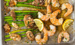 Low Calorie Sheet Pan Dinner: Shrimp & Asparagus – Easy ..
