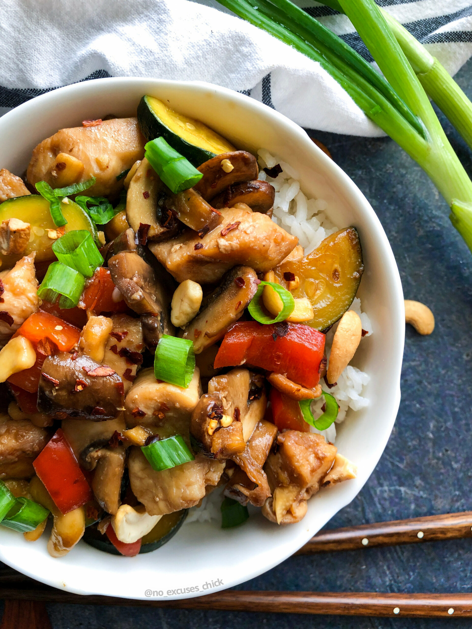 Low Carb Cashew Chicken - low carb chinese food recipes