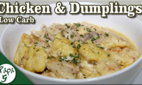 Low Carb Chicken and Dumplings - A Simple and Easy Keto ...