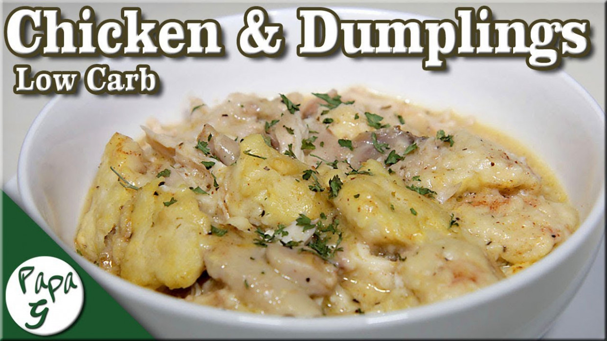 Low Carb Chicken and Dumplings - A Simple and Easy Keto ..