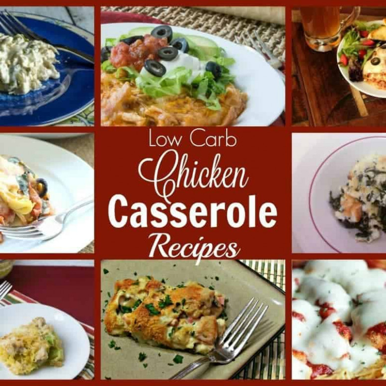 Low Carb Chicken Casserole Recipes | Low Carb Yum - chicken recipes low carb
