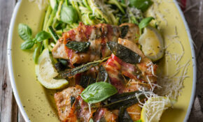 Low Carb Chicken Saltimbocca With Baby Marrow Noodles – Chicken Recipes For Babies