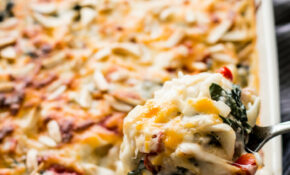 Low Carb Chicken Tetrazzini | Healthy Nibbles & Bits – Chicken Recipes Low Carb