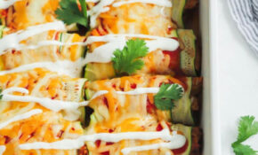 Low Carb Chicken Zucchini Enchilada – Primavera Kitchen – Chicken Recipes Zucchini