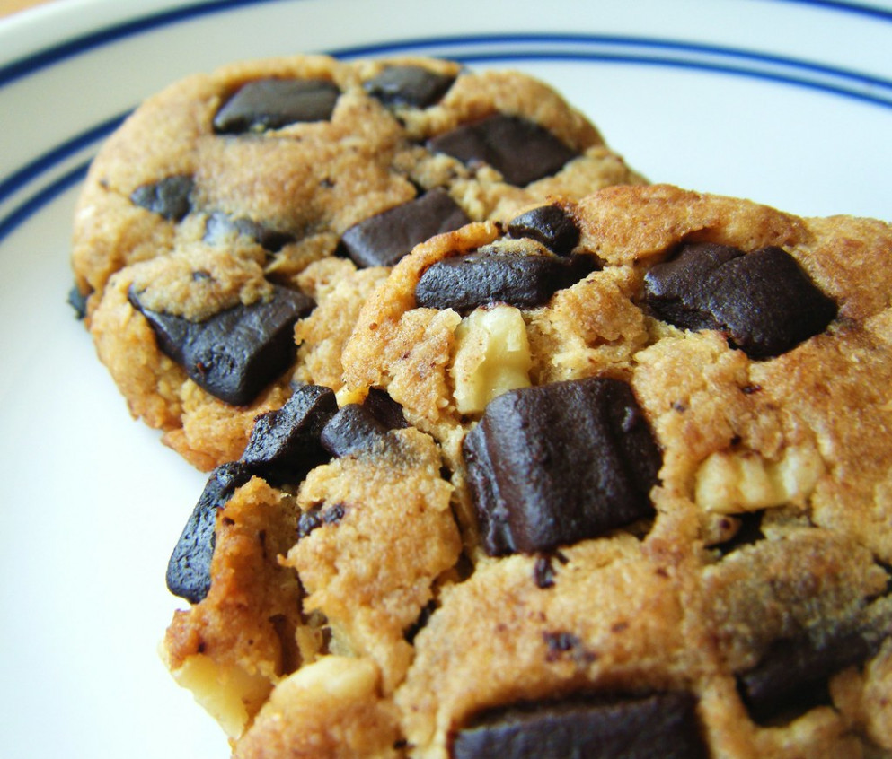 Low-Carb-Chocolate-Chip-Cookies - healthy recipes low carb
