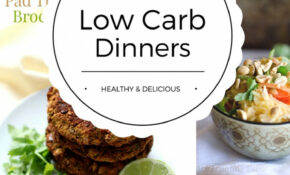 Low Carb Dinners – Healthy & Delicious – Suburban Simplicity – Dinner Recipes That Are Low Carb