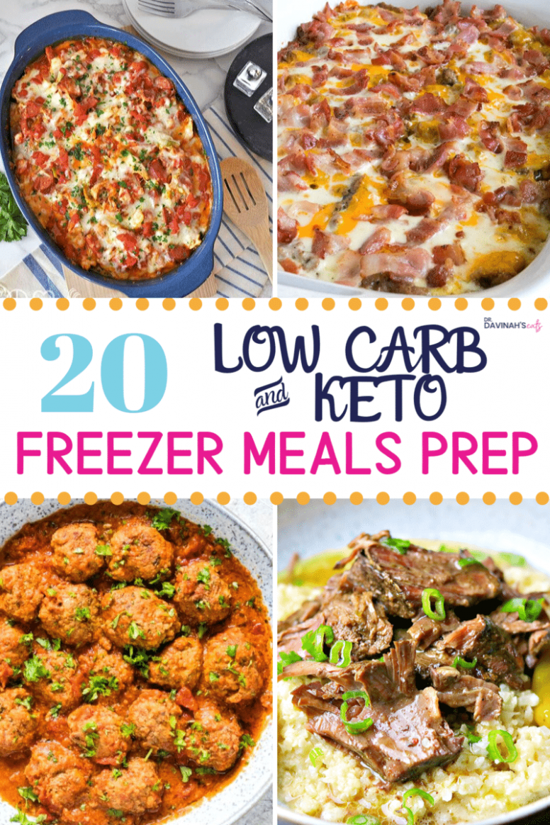 Low Carb Frozen Meals: 13+ Recipes for Prep | Dr