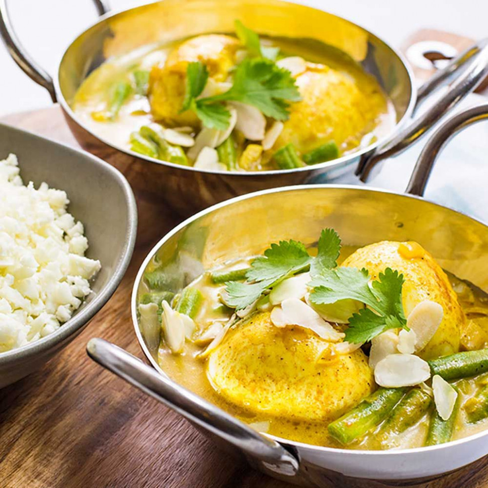 Low Carb Indian Boiled Egg Curry - recipes paleo vegetarian
