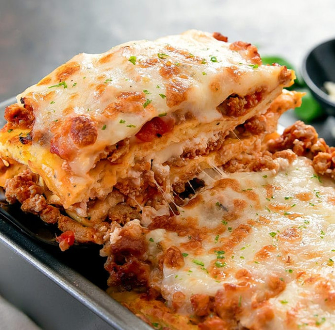 Low Carb Keto Lasagna - Kirbie's Cravings - Keto Filipino Food Recipes