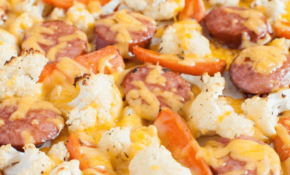 Low Carb Keto Sausage And Veggie Sheet Pan Dinner – Back For ..