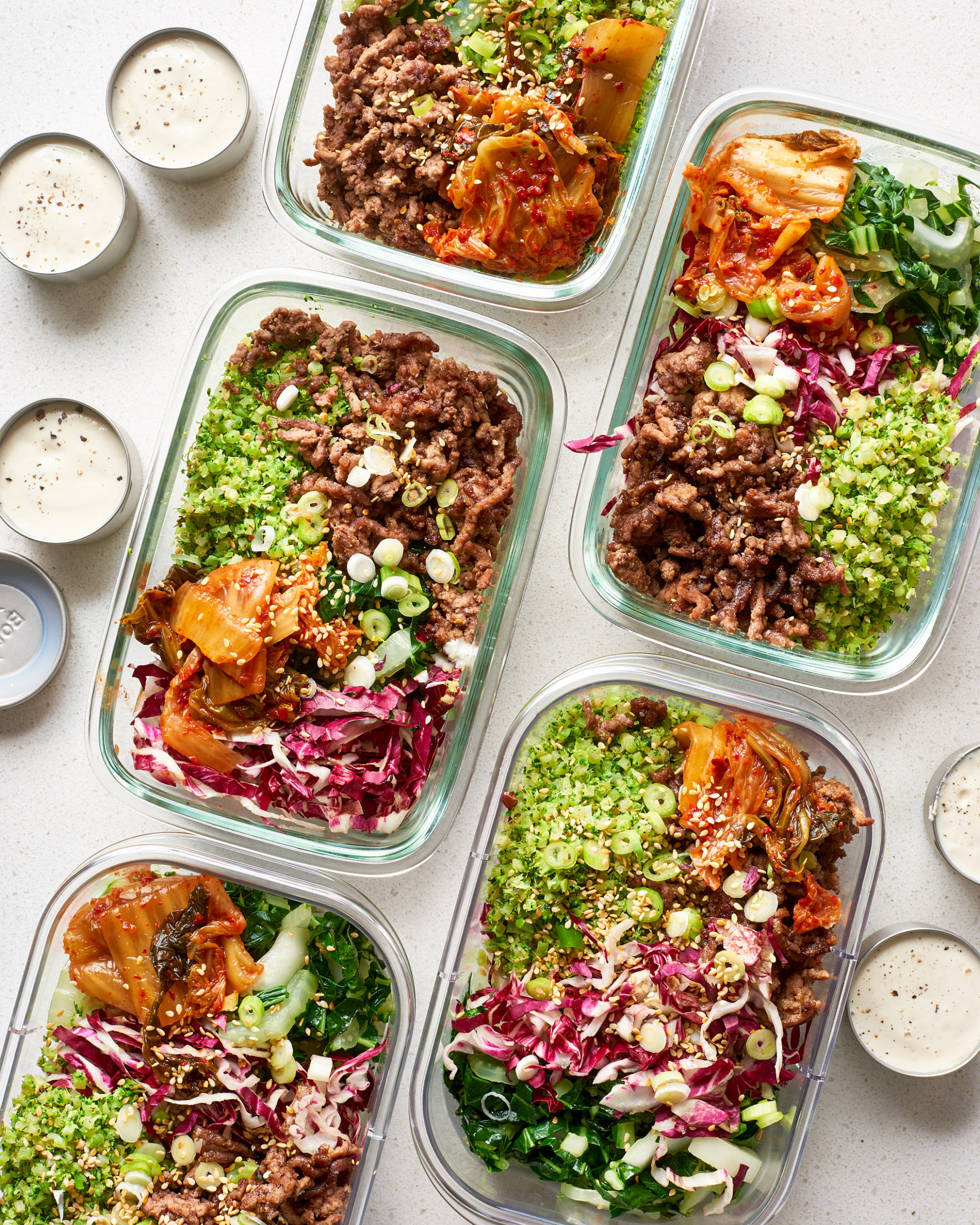 Low-Carb Meal Prep: A Week of Meals | Kitchn - recipes vegetarian no carbs
