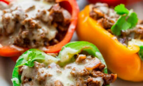 Low Carb Mexican Stuffed Peppers – Healthy Seasonal Recipes – Recipes Low Carb Healthy