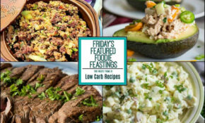 Low Carb Recipe Roundup For Friday's Featured Foodie Feastings – Recipes Low Carb Dinner