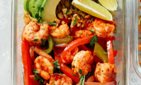 Low Carb Shrimp Fajita Meal Prep Bowls – Food Recipes Low In Potassium