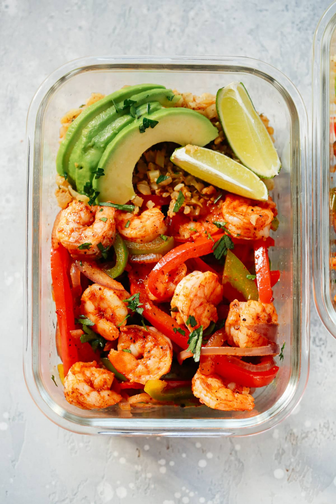 Low-carb Shrimp Fajita Meal-Prep Bowls - food recipes low in potassium
