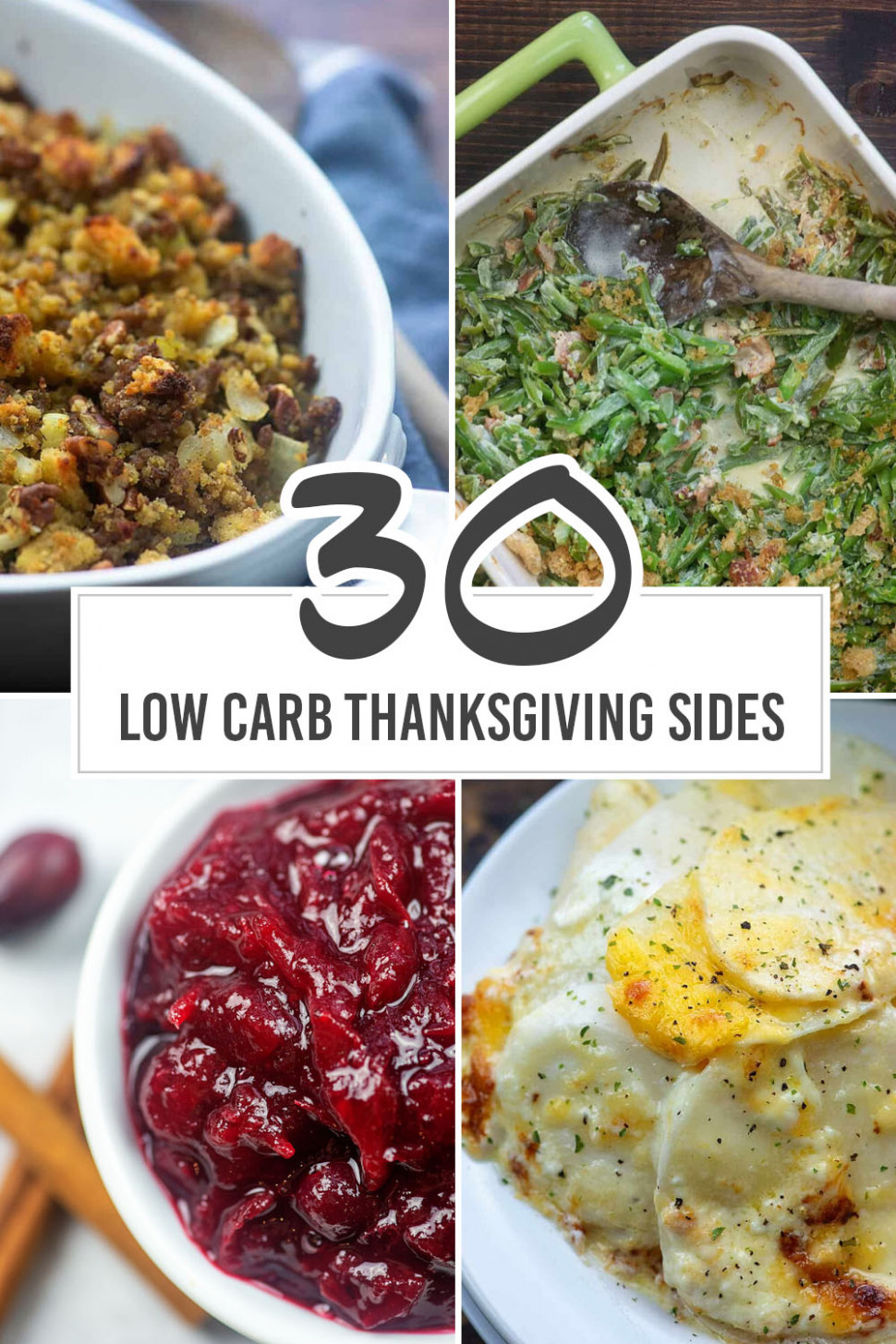 Low Carb Side Dishes For Your Thanksgiving Meal | That Low ..