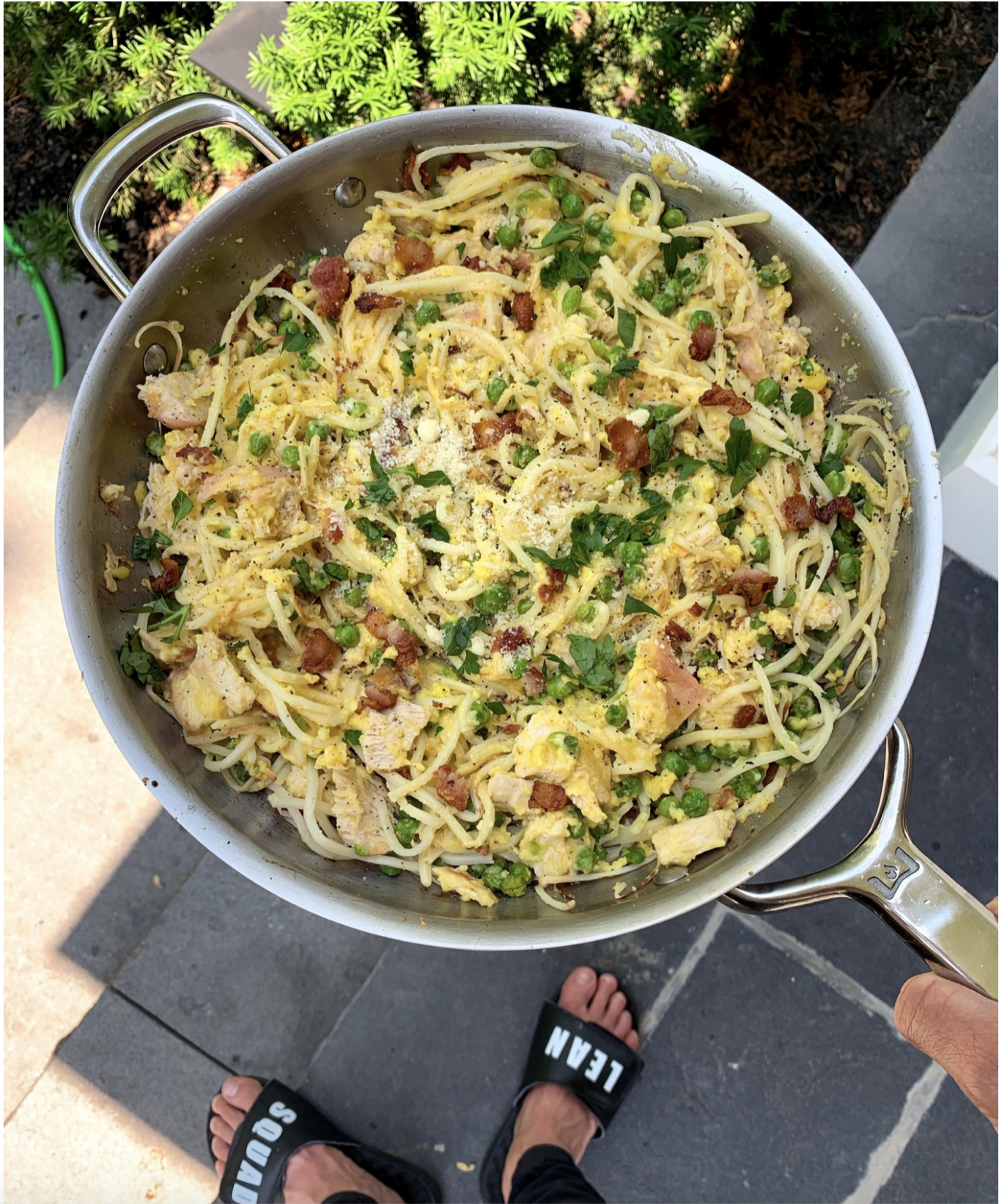 Low Carb Turkey Carbonara - Lean Squad | Blog - recipes low carb healthy fat